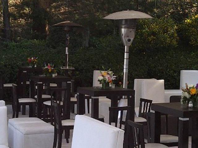 Calentadores para eventos airea condicionado for Calentadores para jardin