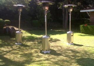 Calentadores portatiles en renta en monterrey carpa real for Calentadores para jardin tipo hongo